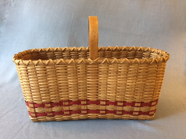 Sizeable Yet Slim Storage Tote Basket - SOLD OUT