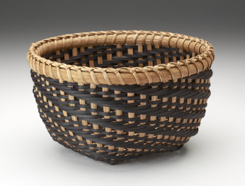 1-2-3 Twilled Basket With Braided Lashing - SOLD OUT
